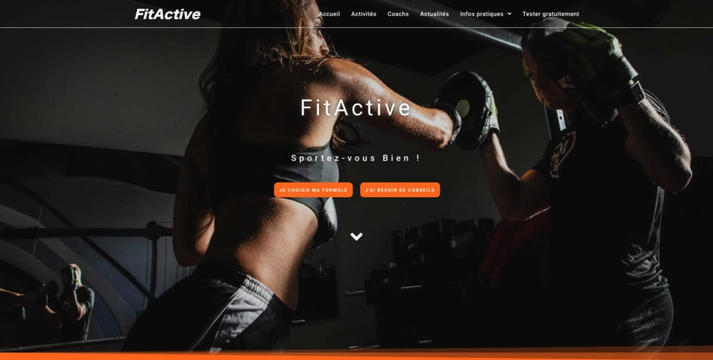 Illustration FitActive Site web
